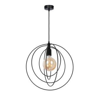Globo SARINI Pendant Light black, 1-light source