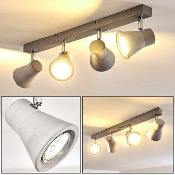 Osco Ceiling Light LED white, 4-light sources