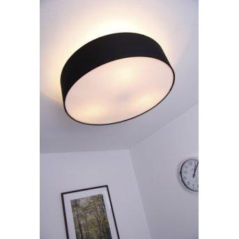 Trio 3033 ceiling light matt nickel, black, 3-light sources