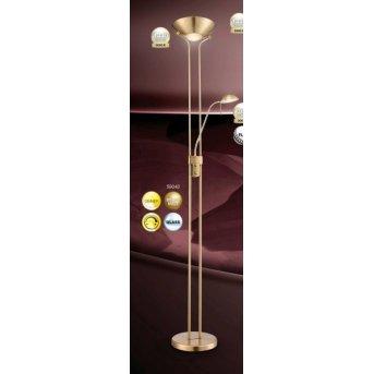 Globo LEONAS uplighter LED brass, 2-light sources