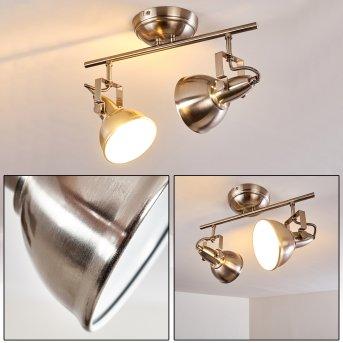TINA ceiling light matt nickel, 2-light sources