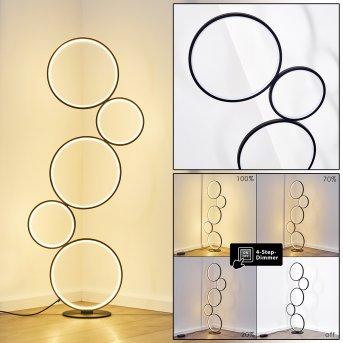 RODEKRO Floor Lamp LED black, 1-light source