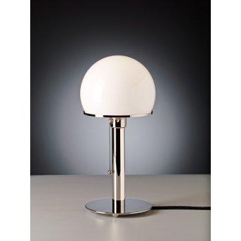 Tecnolumen Wagenfeld 24 Table lamp polished nickel, 1-light source