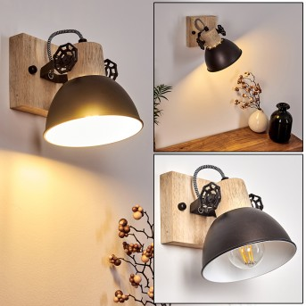 Wall Light Orny anthracite, 1-light source