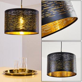 Bathinda Pendant Light black, 1-light source