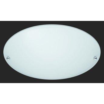 Trio 6196 ceiling light aluminium, white, 1-light source