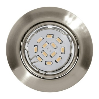 Eglo PENETO recessed light matt nickel, 1-light source