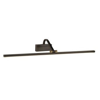 Wall Light Searchlight PICTURE LIGHTS LED black, gold, 1-light source