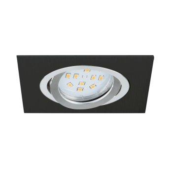 Eglo TERNI recessed light LED black, 1-light source