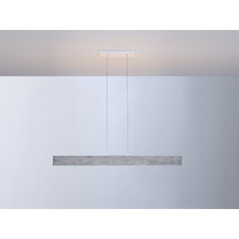 Escale VITRO Pendant Light LED grey, aluminium, 1-light source