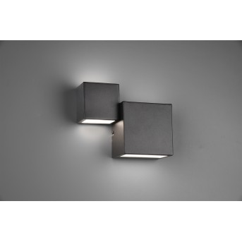 Trio MIGUEL Wall Light LED black, 1-light source