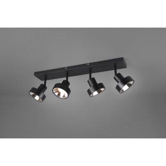 Trio LEON Spotlight LED black, 4-light sources