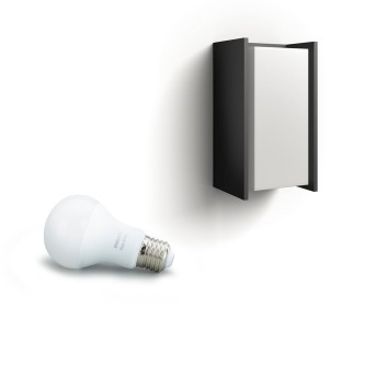 Philips HUE WHITE TURACO Wall Light anthracite, 1-light source