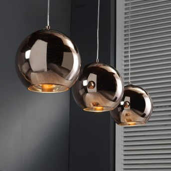 Pendant Light Cattenscop copper, 3-light sources