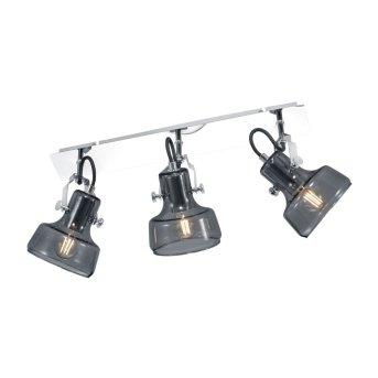 Trio Leuchten KOLANI Spotlight chrome, 3-light sources