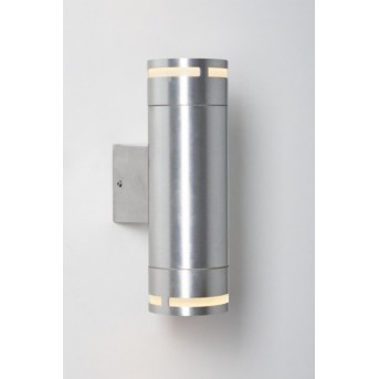 Nordlux Can wall light aluminium, 2-light sources