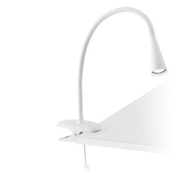 Faro Lena clamp-on light LED white, 1-light source