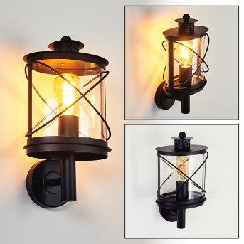 CHAMESOL Outdoor Wall Light black, 1-light source