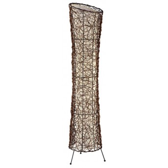 Nino Leuchten RUTH Floor Lamp brown, 2-light sources