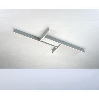 Bopp NANO PLUS BASIC Ceiling Light LED aluminium, white, 1-light source