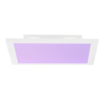Brilliant ABIE Ceiling Light LED white, 1-light source, Remote control, Colour changer