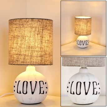 Seon LOVE Table Lamp white, 1-light source