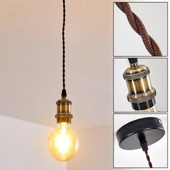 GUNNISON Pendant Light brass, black, bronze, 1-light source
