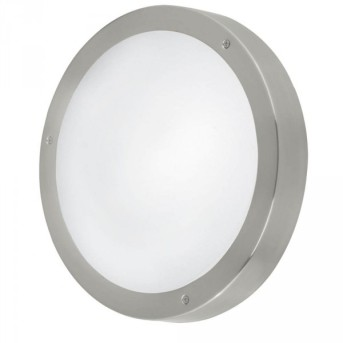 Eglo VENTO 1 outdoor wall and ceiling light LED stainless steel, 3-light sources