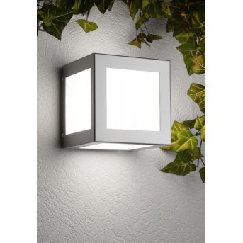 CMD AQUA CUBO Wall Light stainless steel, 1-light source