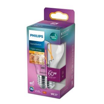 Philips LED E27 1,6 Watt 3 Watt 7,5 Watt 2200 - 2700 Kelvin 150 - 806 Lumen