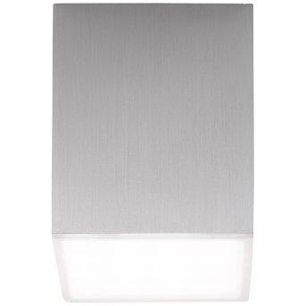AEG Gillian Ceiling Light LED aluminium, 1-light source