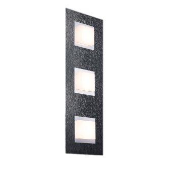 Grossmann BASIC Ceiling light LED anthracite, 3-light sources