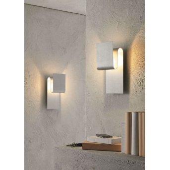 Escale FOLD wall light aluminium, 1-light source