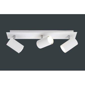 Trio 8024 ceiling light white, 3-light sources