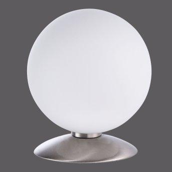 Paul Neuhaus BUBBA table lamp LED stainless steel, 1-light source