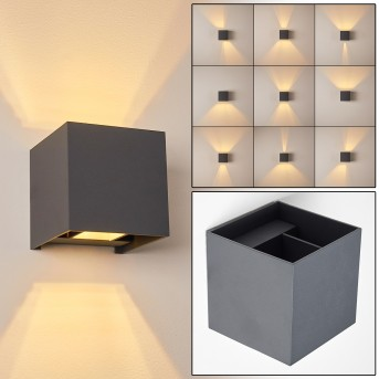 Badajoz Wall Light LED anthracite, 1-light source