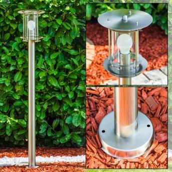 VALDEZ Path Light stainless steel, 1-light source