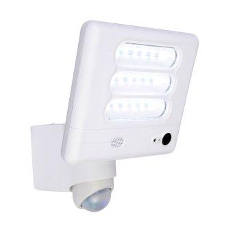 Lutec ESA Camera light LED white, 1-light source, Motion sensor