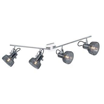 Trio Leuchten KOLANI Spotlight chrome, 4-light sources