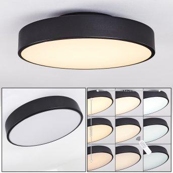 PLOVDIV Ceiling Light LED black, 1-light source, Remote control