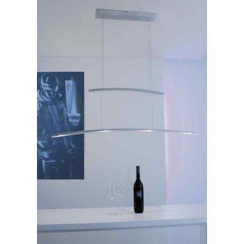 Bopp ARCO hanging light LED aluminium, 4-light sources