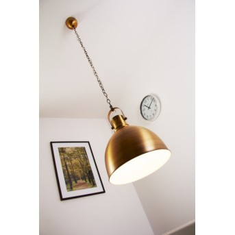 Trio 3005 pendant light brass, bronze, 1-light source