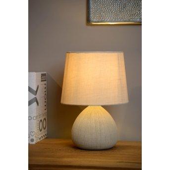 Lucide RAMZI Table Lamp beige, 1-light source