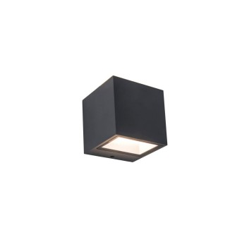 Lutec GEMINI Outdoor Wall Light LED anthracite, 2-light sources