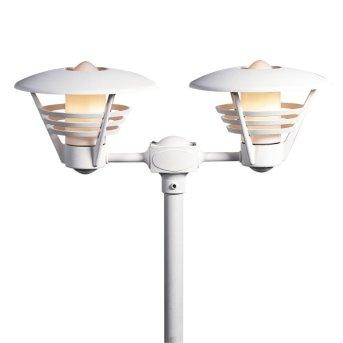 Konstsmide Gemini light head white, 2-light sources