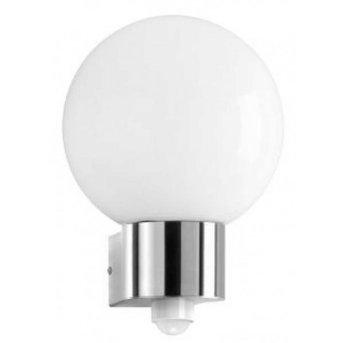 CMD AQUA BALL Wall Light stainless steel, 1-light source, Motion sensor