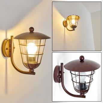 SONVIL Outdoor Wall Light brown, 1-light source