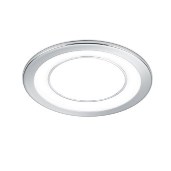 Recessed light Trio Leuchten CORE LED chrome, 1-light source