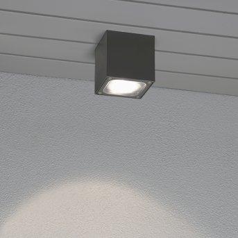 Konstsmide CESENA Ceiling light LED grey, anthracite, 1-light source