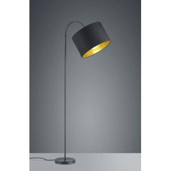 Trio HOSTEL Floor Lamp black, 1-light source